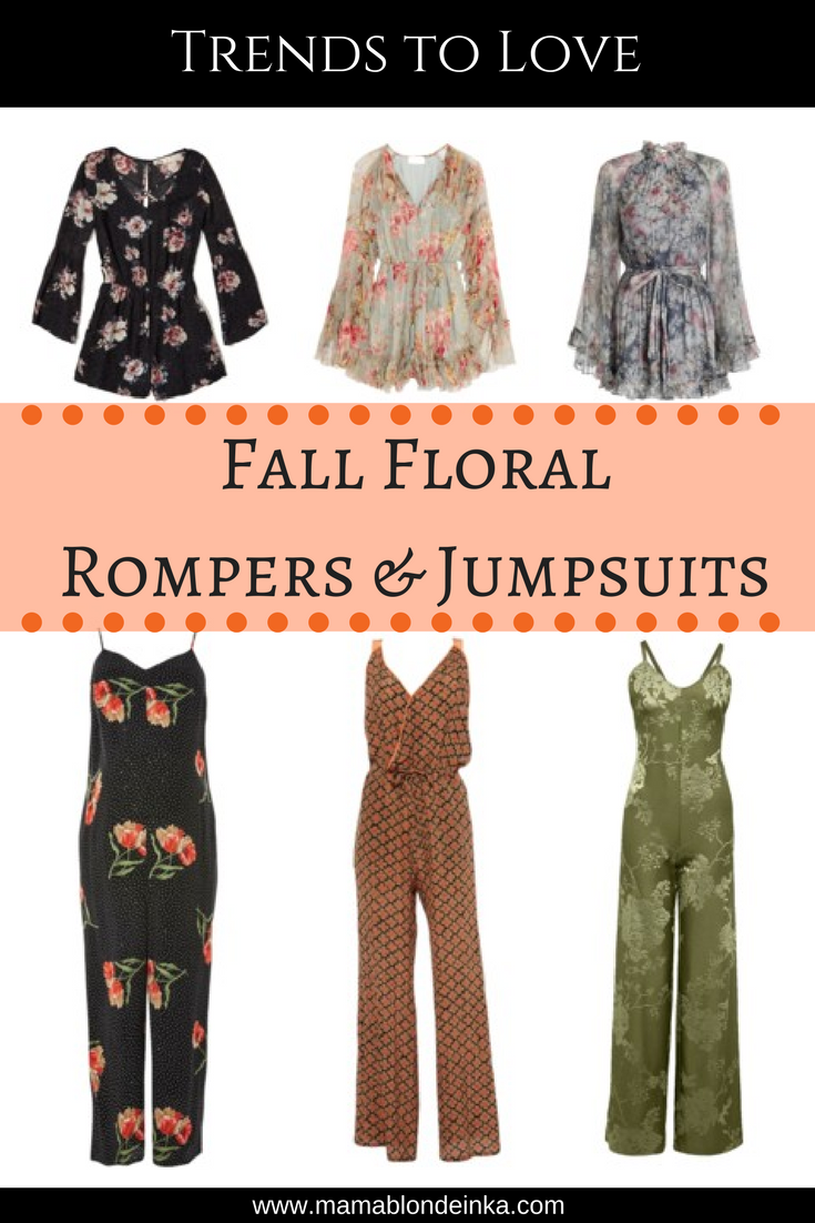Fall Floral Rompers & Jumpsuits – Trends to Love