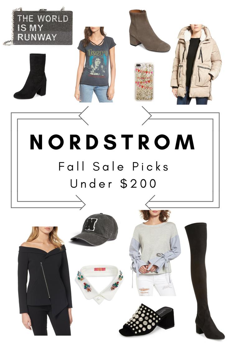 Nordstrom Fall Sale Picks Under $200